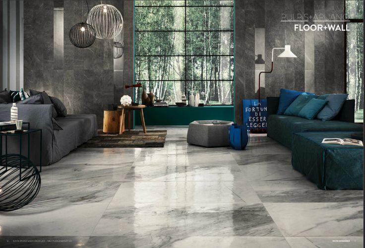#marble tiles #floor impronta italgraniti WHITE EXPERIENCE LIVING