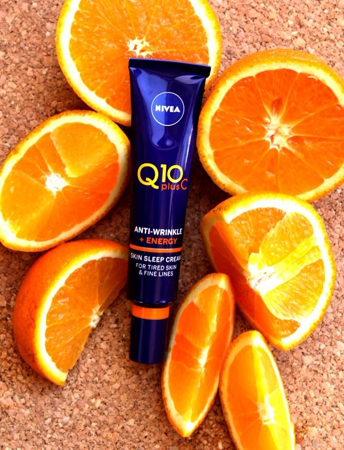 REVIEW: NIVEA Q10 PlusC Anti-Wrinkle + Energy Skin Sleep Cream