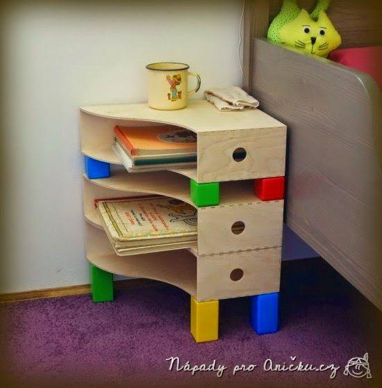 Kreatív Ötletek: Ikea Hack: Irattartókból éjjeli szekrényke