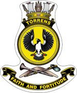 HMAS Torrens crest