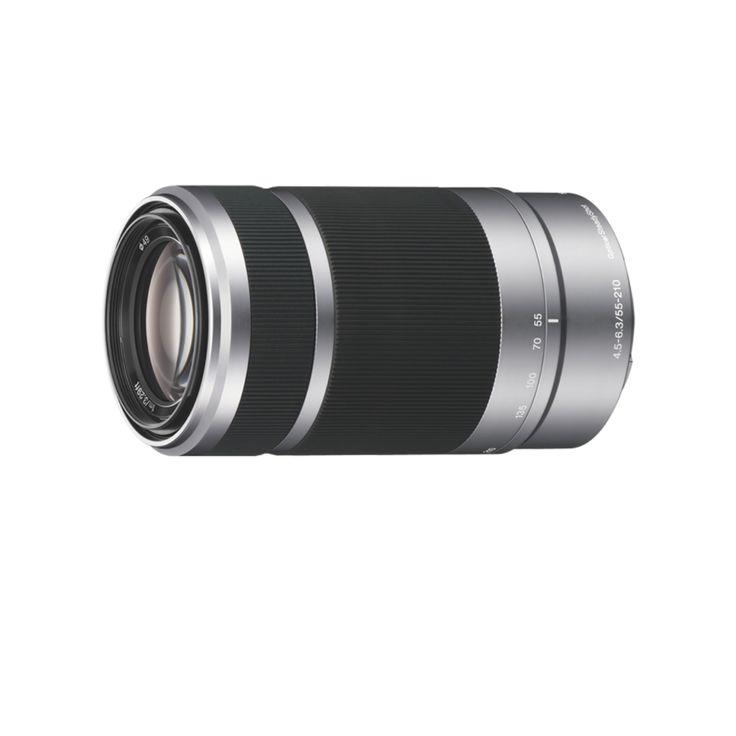 Sony E 55 - 210 mm f/4.5 - 6.3, Dédié séries NEX - Objectif zoom - Fnac.com