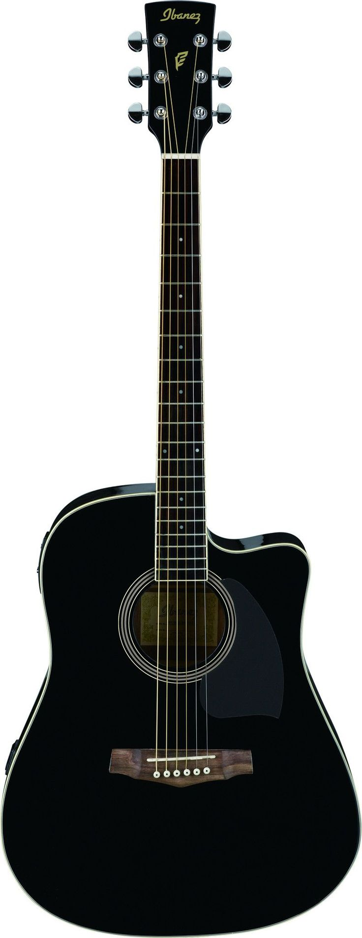 The PF series of acoustic guitars from Ibanez boast a number of professional features normally found on high-end acoustics, and backed by the Ibanez name and quality. The most notable features of the