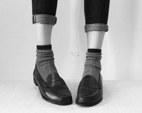 striped socks. I NEED loafers