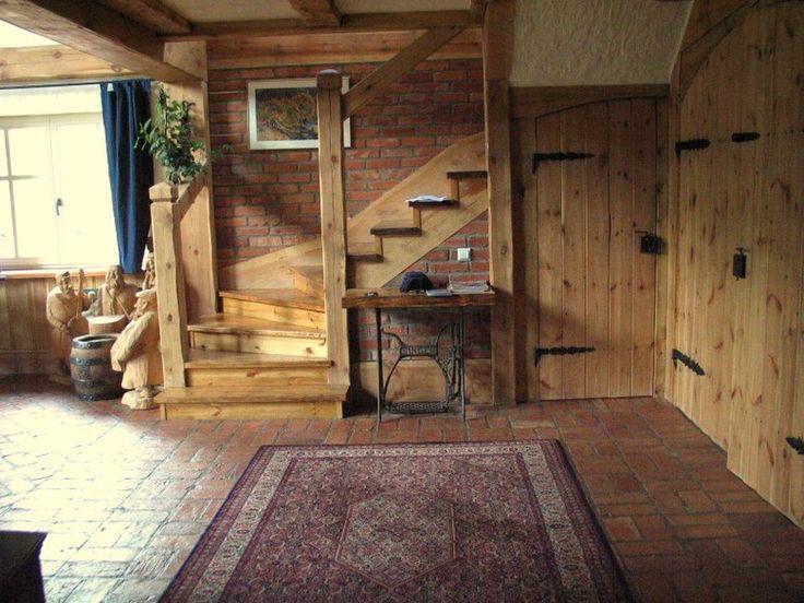 DOM W STYLU RUSTYKALNYM  RUSTYKALNE KUCHNIE I STYLOWE   -> Kuchnie Drewniane Rustykalne