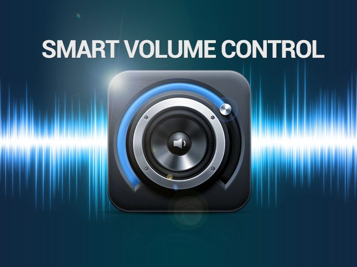 Smart Volume Control - Android app icon by Petr | Direct-services