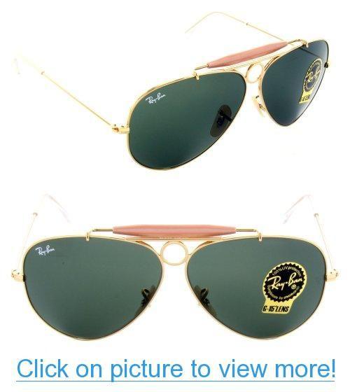 ray ban rb 3138 shooter aviator sunglasses yellow  ray ban sunglasses rb 3138 shooter