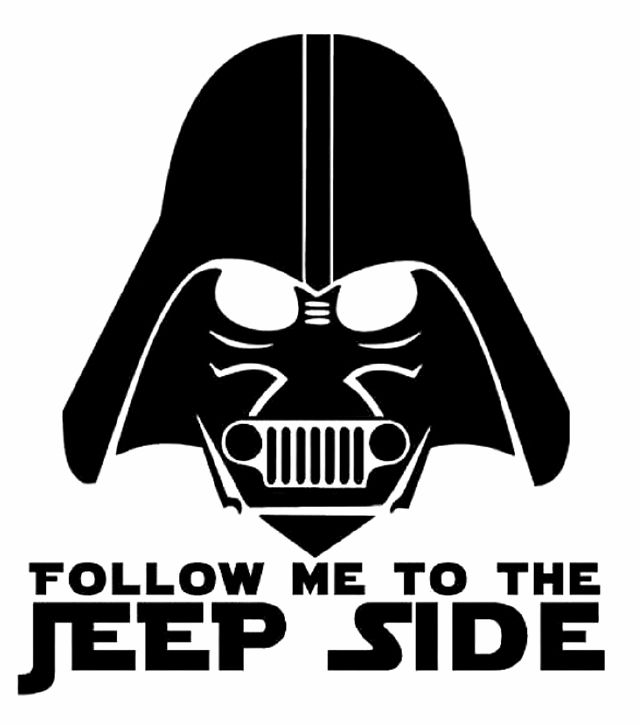 Follow me to the Jeep side.... I love it!!!!