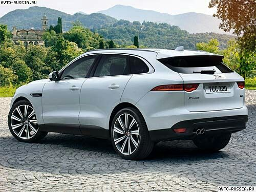 2016 Jaguar F-Pace. Wonder if, or should I say when, they will do an SVR version of this?