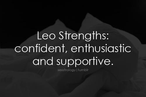 Leo Strengths