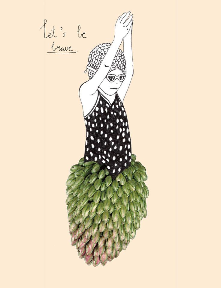 illustration for new series: naturals / natuurtalenten