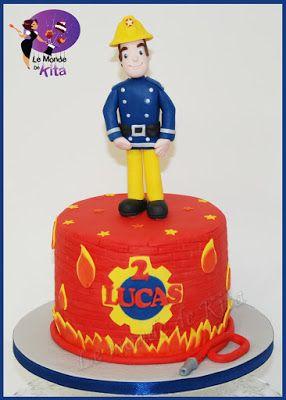 17 meilleures id es propos de g teau de sam le pompier sur pinterest petits g teaux de - Gateau sam le pompier ...