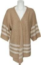 ROMEO & JULIET COUTURE Stripe Cardigan Sweater [RJ24087]