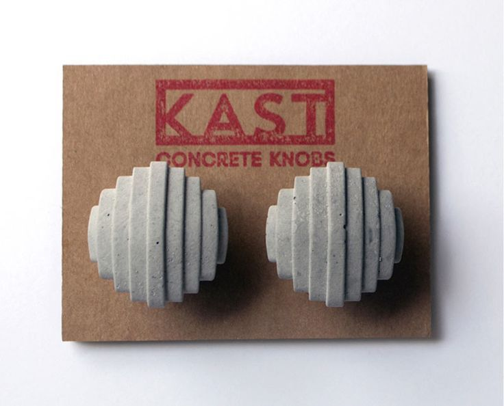Kast Concrete Knobs on DESIGN MILK