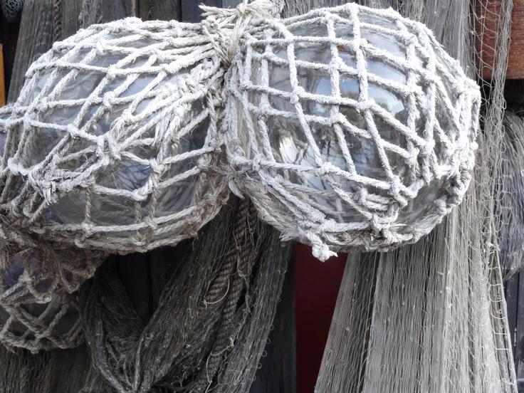 Old fisherman net.
