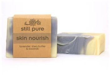 Still Pure's Nourish Soap with Lavender, Shea butter & Boabab