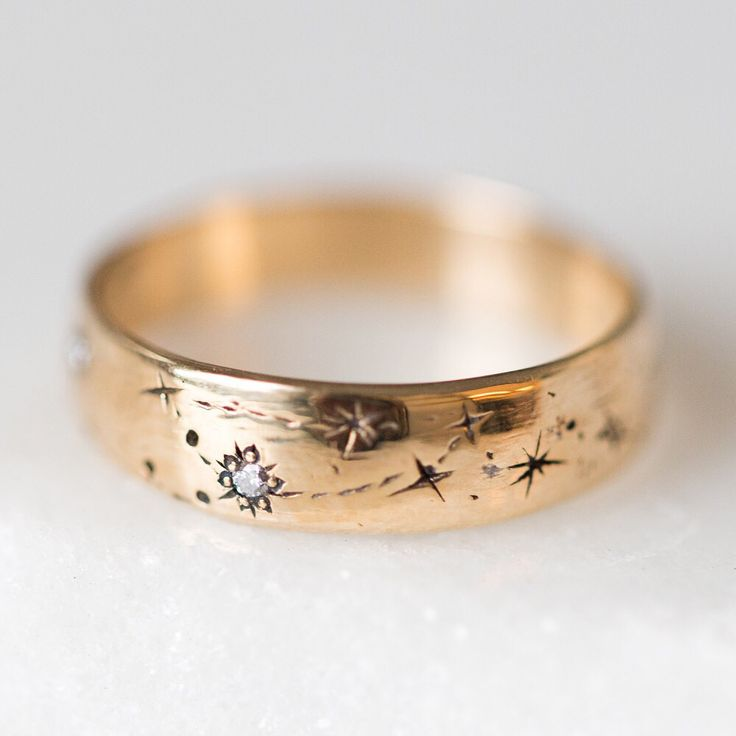 "Catbird (@catbirdnyc) on Instagram: ""We are all made of stardust. Each Written in the Stars Ring is custom made, with two zodiac…"""
