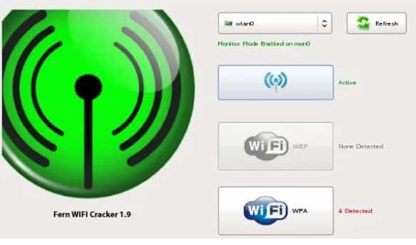 Fern Wifi Cracker Free Download 2020 Latest Wireless Audit Tool Secured You Wifi Cracker Wifi Password Cracking