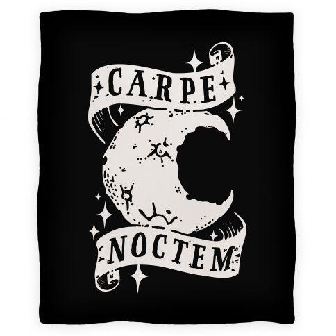 Carpe+Noctem  $39.00 Fleece Throw