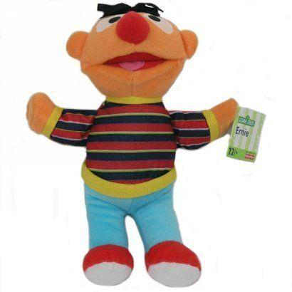 Fisher Price - Ernie - pluszowa maskotka, 26 cm