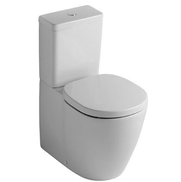 Ideal Standard Concept Cube Close Coupled Closed Back WC