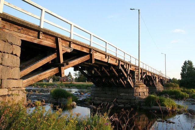 Etelänkylän Isosilta #pyhajoki #finland