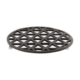 Matte Grid Trivet - Black