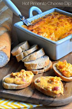 The classic, cheesy Southern appetizer is perfect on crusty bread.