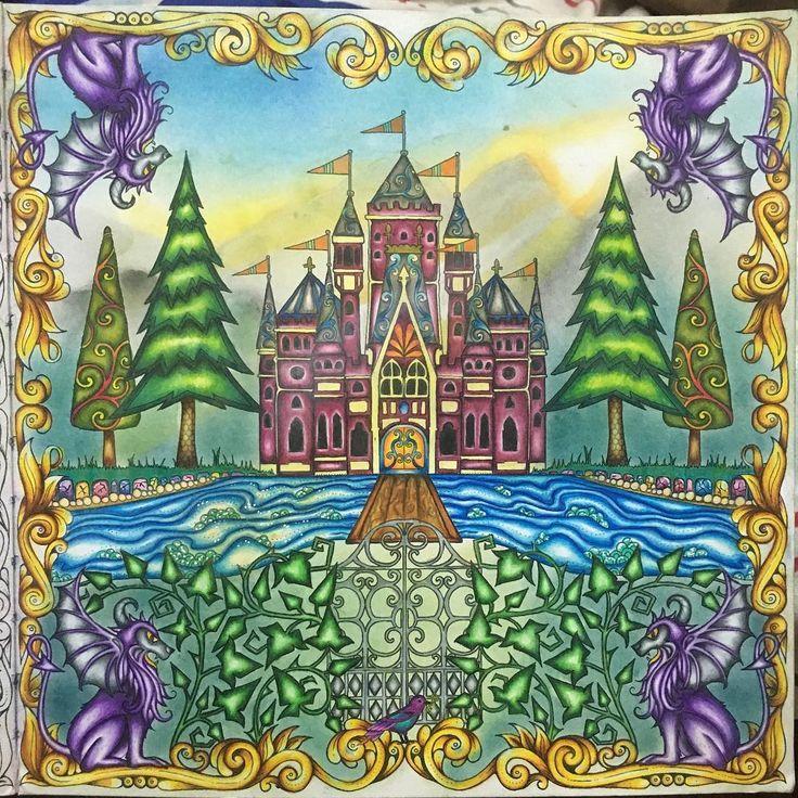 Johanna Basford Coloring Book Joanna Art Forests Enchanted Adult Books Felt Flowers Secret Gardens