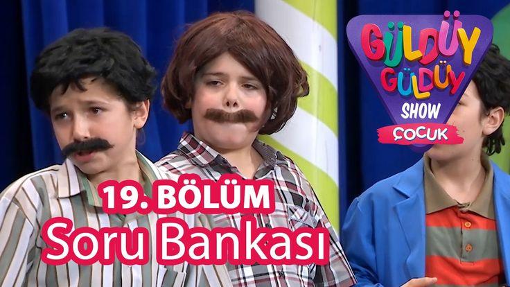 ✿ ❤ Perihan ❤ ✿ KOMEDİ :) Güldüy Güldüy Show Çocuk 19. Bölüm, Soru Bankası Skeci :))