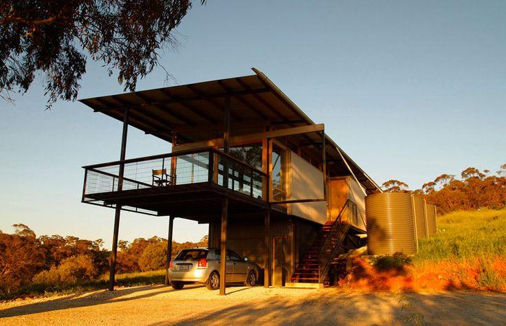 Jon Lowe à copié Glenn Murcutt ou à copié ma maison... En tout cas j'aimerais bien y habiter.  www.australiandes...