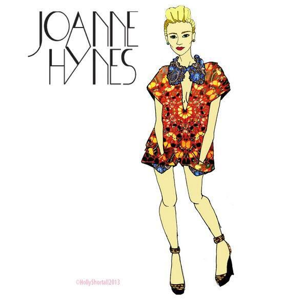 Joanne as illustrated by Holly Shortall. #illustration