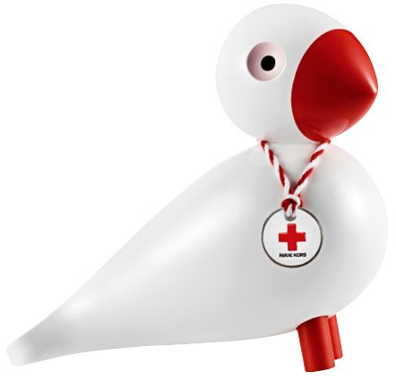 Kay Bojesen Denmark - Sangfugl Røde Kors