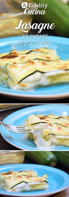 Le lasagne di patate e zucchine sono sfiziose, golose ma soprattutto facilissime da preparare. Ecco la ricetta ed alcuni consigli