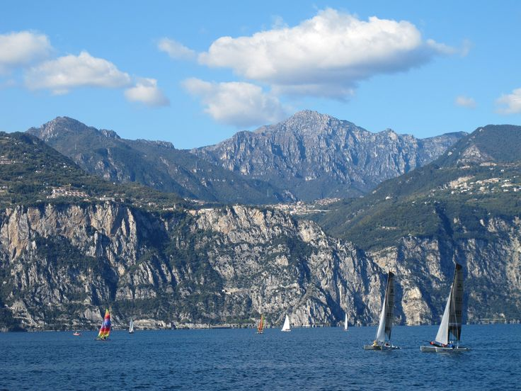 Catamaran sailing in Italy.  #catamaran #sailing #Italy #sea #yachts #yachting #sebastus