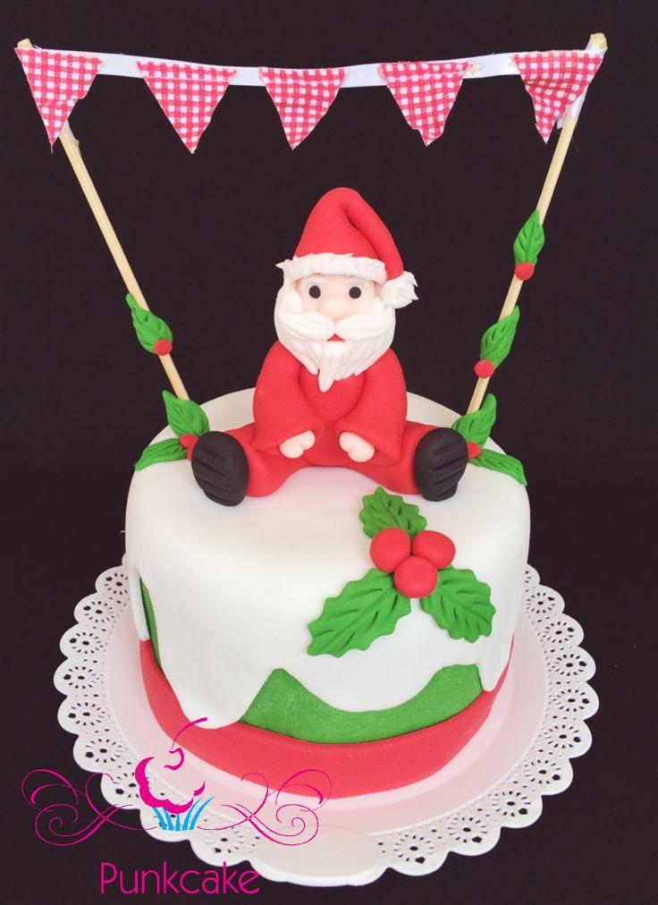 Natal Christmas Confeitaria Punkcake PunkcakePe Modelagem Pasta Americana