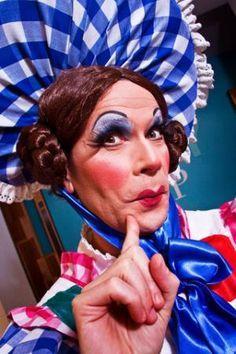 pantomime dame make up - Google Search