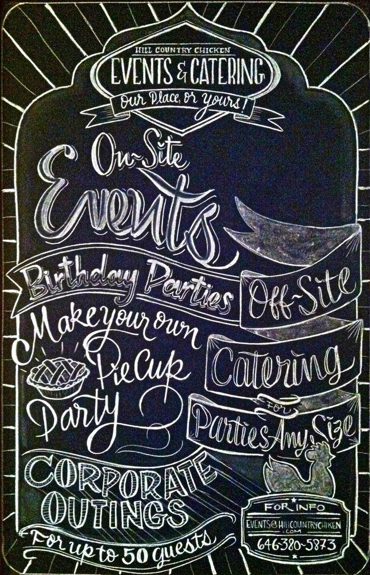 17 Best images about Restaurant Chalk Art on Pinterest ...