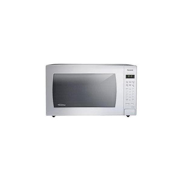 Panasonic NN-SN936W 2.2 Cu. Ft. 1250W Genius Sensor Countertop Microwave Oven with Inverter Technolo - White