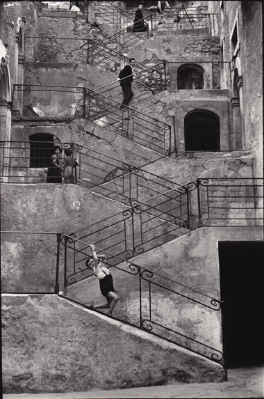 René Burri, Leonforte Sicily, Italy, 1956
