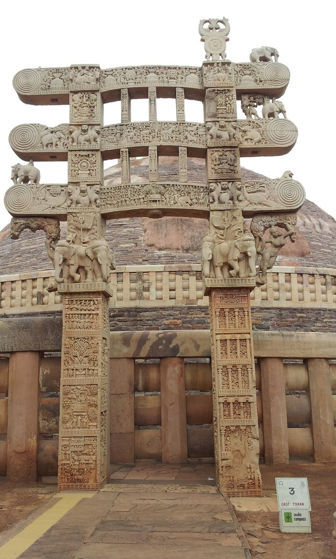 amazing sanchi stupa