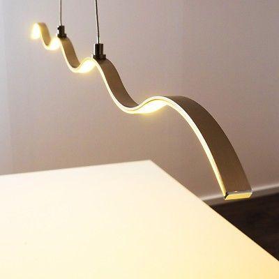 Design LED Hängeleuchte Leuchte Pendelleuchte Esszimmer Pendellampe Hängelampe