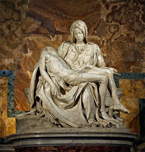 Piedad del Vaticano. (Miguel Ángel)