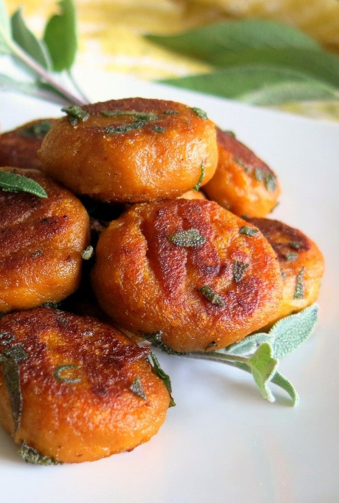Pan-Fried Pumpkin Gnocchi with Sage (Vegan and Gluten-Free ...