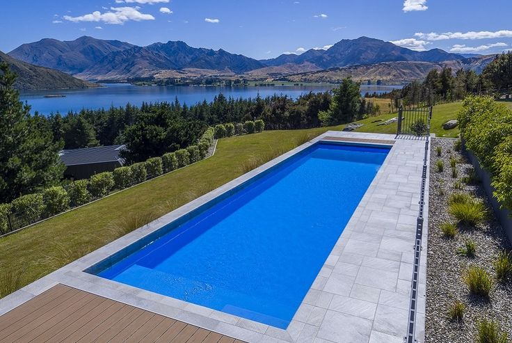 Winner of the Platinum 2017 Pool of the Year Award, Mayfair Pools Central Otago