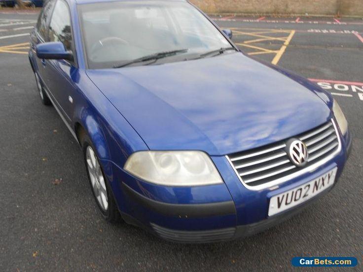2002 VOLKSWAGEN PASSAT S TDI BLUE #vwvolkswagen #passatstdi #forsale #unitedkingdom
