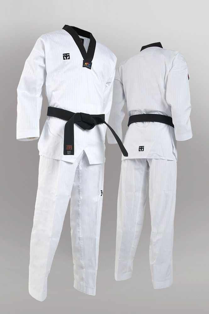 Mooto Fighter Black Belt Taekwondo Hipkido Tae Kwon Do Competition Korea TKD