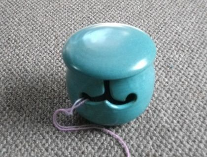 Yarn Bowl for Knitting, Crochet | Felt