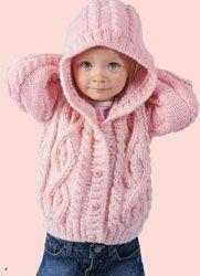 progetto maglia giacchino bimbi ai ferri