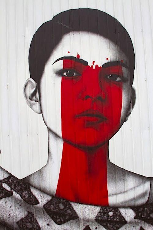 Artists: Fin Dac & Angelina Christina #streetart #ArtOrNot #Kunst