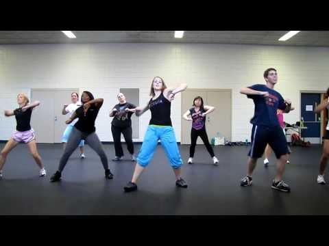 Zumba - this video made me smile! love all the different types of people and varied levels of coordination. definitely want to give zumba a try!